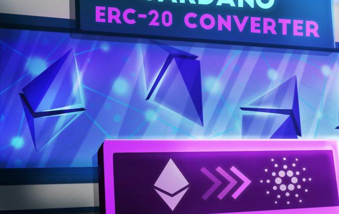 Cardano lancia il convertitore Ethereum ERC-20