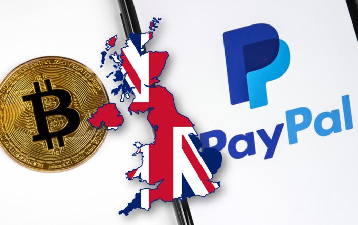 PayPal estende il servizio crypto nel Regno Unito