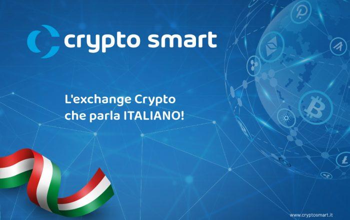 Crytpo Smart l'Exchange crypto che parla ITALIANO