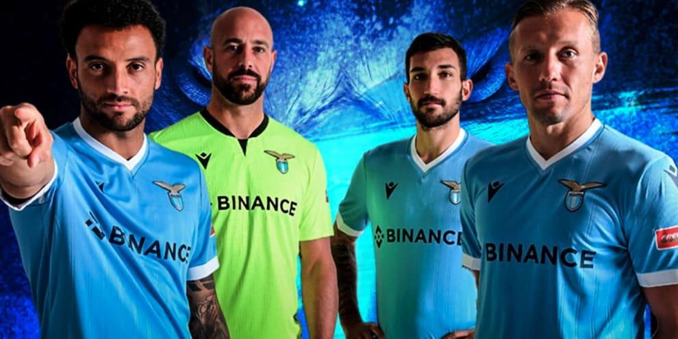 Binance e SS Lazio