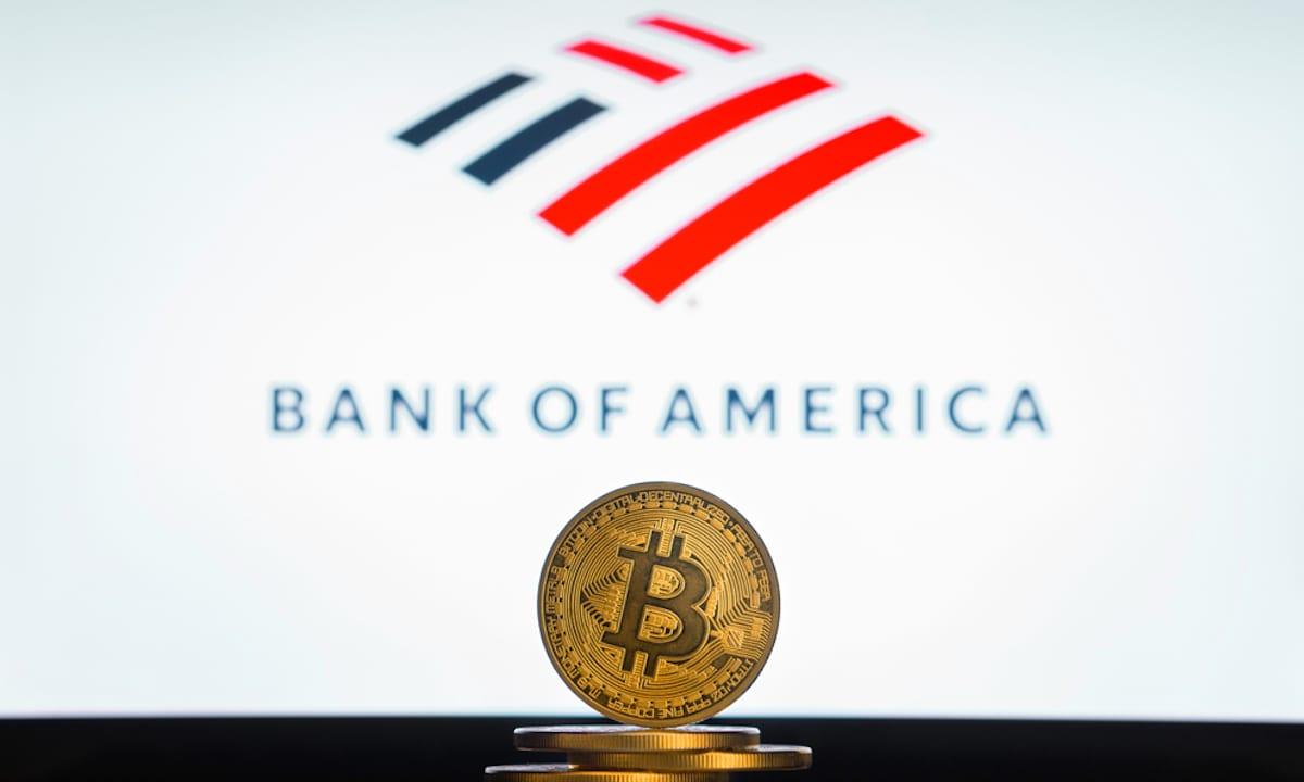 Bank of America dichiara che Bitcoin è rilevante